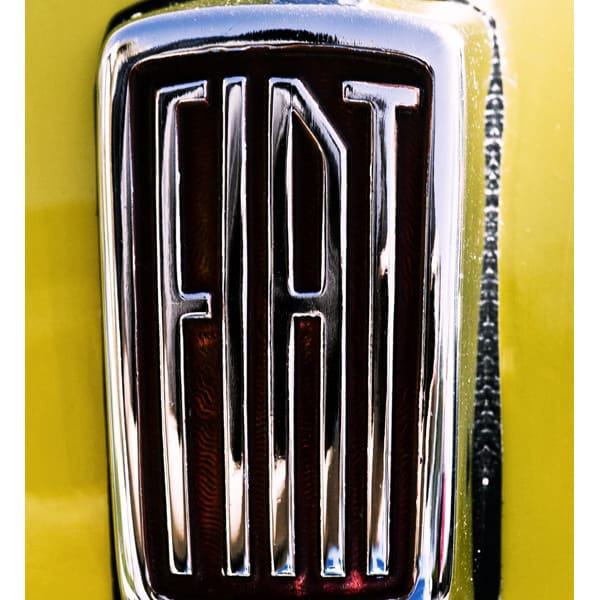 Fiat, Chrome, Red and Yellow