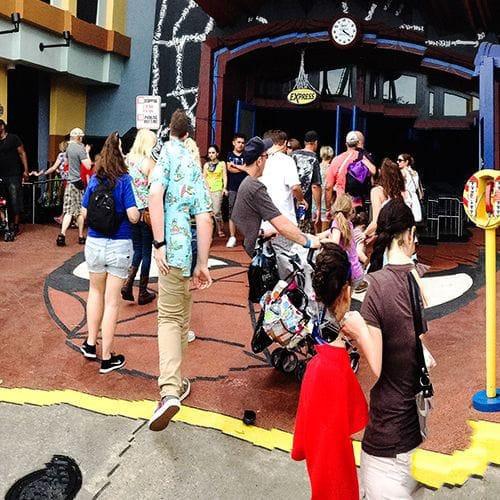Messy Entrance