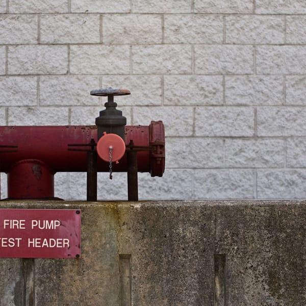 Fire Pump, Test Header