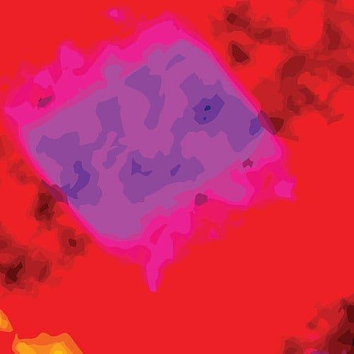 Squared Blurred Blobs