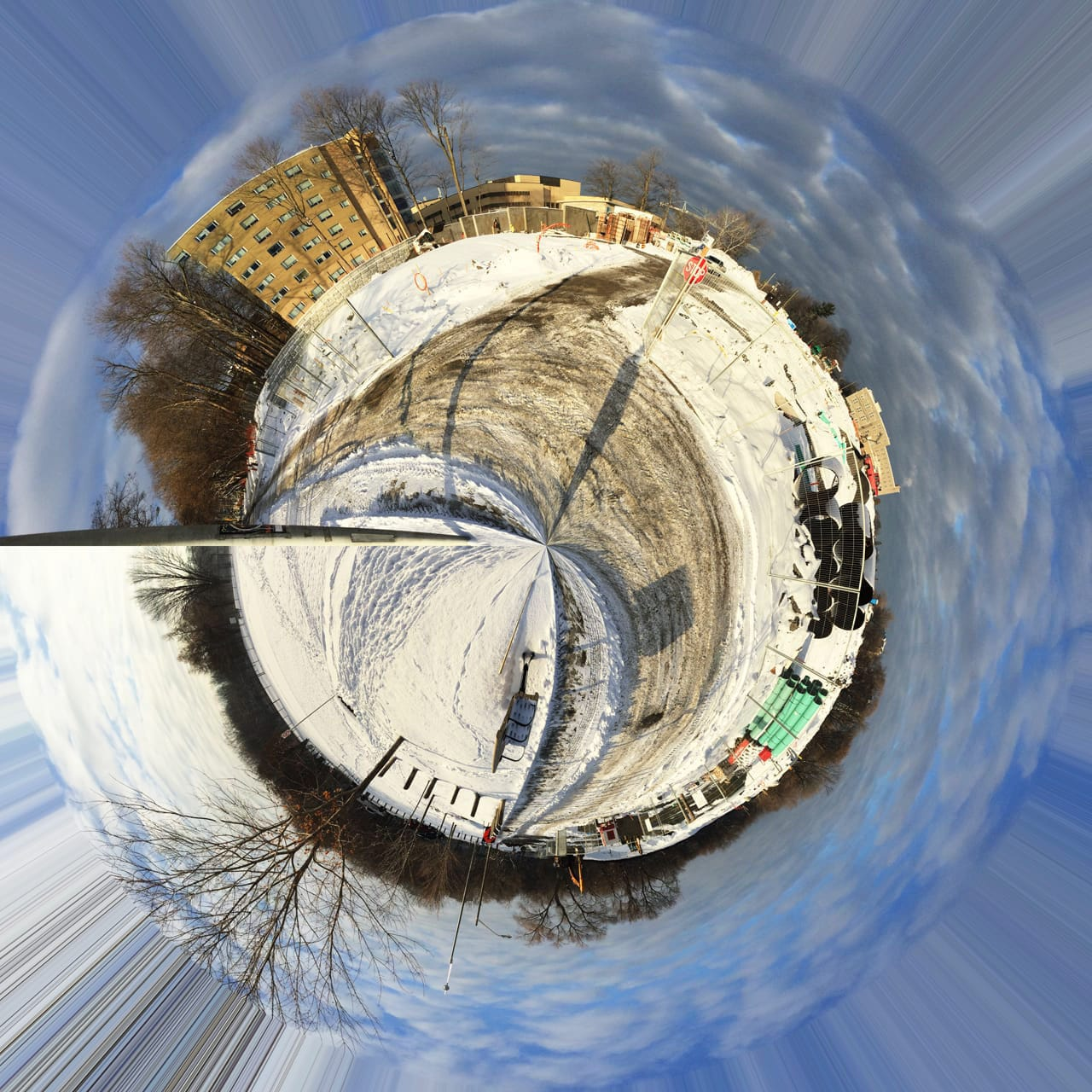 My street in Tiny Planets